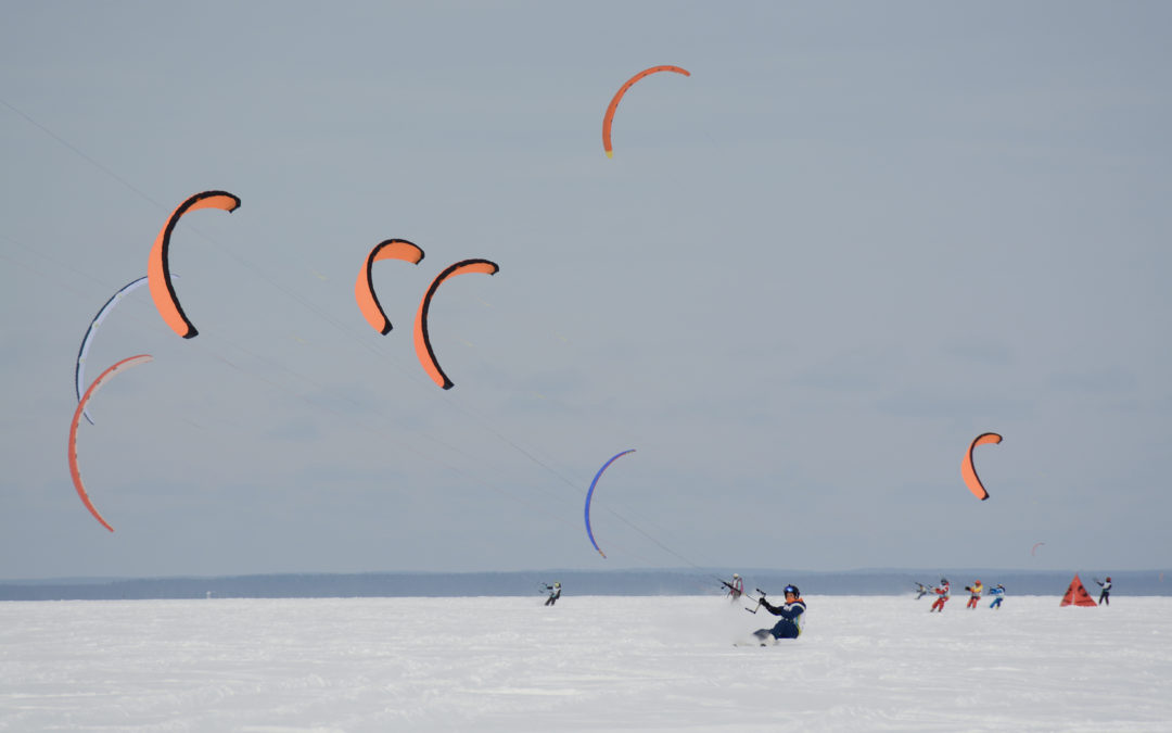 """Кубок Национального Парка """"Плещеево озеро"""" по зимним парусным видам спорта состоялся!"""